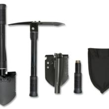 Lopatka skladacia ALBAINOX 33794 Tactical – čierna
