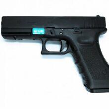 Airsoftová plynová pištoľ WE GLOCK 17 gen.3 BlowBack – GAS BB 6mm