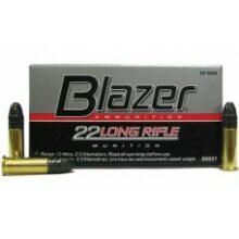 22LR Blazer 40gr/2,59g LRN, 50 ks (21EU)