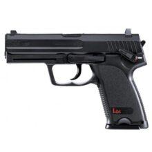 Pištoľ CO2 Heckler & Koch USP, kal.4,5mm BB – čierna