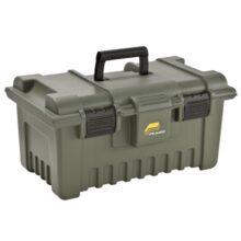 Bedňa muničná plastová PLANO Shooter´s Case XL so stojanom, 24,5l – olivová