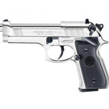 Pištoľ CO2 Beretta M92 FS polished chrome, kal. 4,5mm diabolo