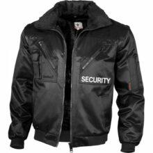 Bunda QUALITEX Pilot SECURITY – čierna