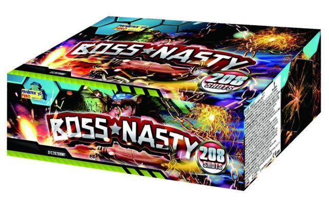 Boss Nasty 208 rán, kaliber 14mm