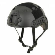 Helma FAST PJ replika s montážnymi lištami – čierna