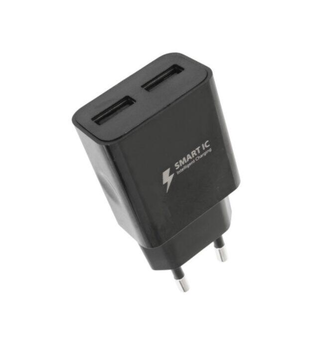 Sieťová nabíjačka WG 2xUSB 2,4A Smart IC