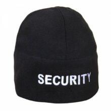 Čiapka fleece SECURITY – čierna