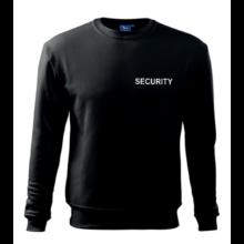 Mikina SECURITY – biela potlač
