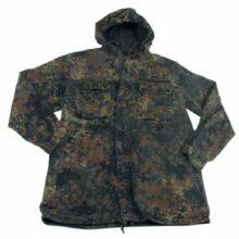 Kabát originálny armádny MFH BW flecktarn 606045 – zánovný