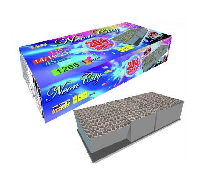 Neon City 304 rán kombinovaný s vejárom, kaliber 14mm