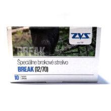 Brokové náboje ZVS Break JS 12/70 32g jednotná strela, 10ks