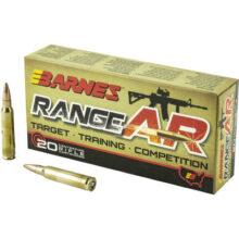 Barnes Range AR 5.56 NATO 52gr OTFB, 20 ks