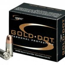 9mm Luger Speer Gold Dot 115gr/7,45g GDHP