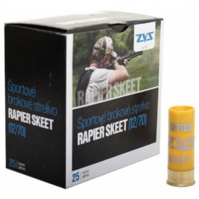 Brokové náboje ZVS Rapier Skeet Easy 24g 2,0mm, 25ks