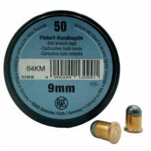 RWS 9mm Flobert okrúhle 50k
