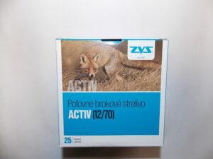 Brokové náboje ZVS 12/70 Activ 3,50mm / 34g, 25ks