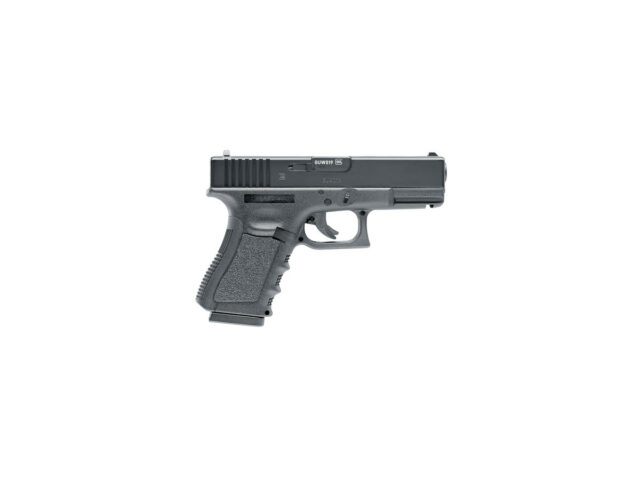 Pištoľ CO2 GLOCK 17, kal. 4,5mm diab./BB