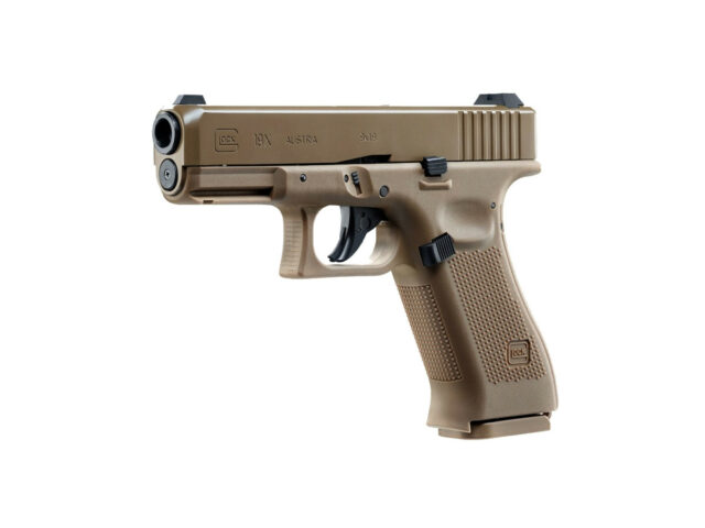 Pištoľ CO2 GLOCK 19X (blowback), kal. 4,5mm BB