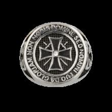 Prsteň ALBAINOX, Templársky kríž – strieborný