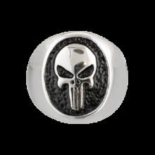 Prsteň ALBAINOX, Skull – strieborný