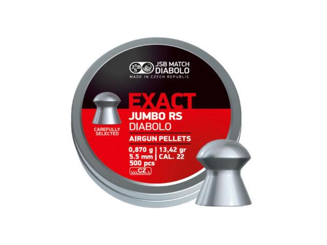 JSB Jumbo Exact RS 5,52mm, 500ks
