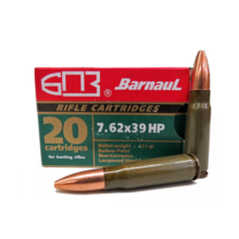 7,62×39 Barnaul HP 123gr (20ks)
