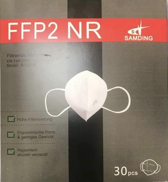 Respirátor 5-vrstvový FFP2