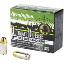 Remington 380 AUTO, Ultimate defense BJHP 102gr (20ks)