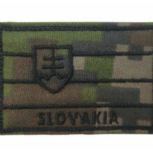 Nášivka SVK vlajka 7x5cm so SZ – digital woodland