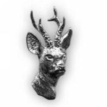 Odznak srnec strieborný – hlava
