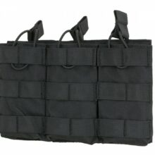 Sumka na 3 zásobníky 8FIELDS pre M4/M16 – čierna