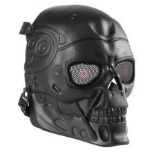 Airsoft maska Wosport Terminator, čierna