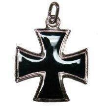 """Prívesok na krk """"Maltézsky kríž"""" strieborný – veľký"""