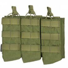 Sumka na 3 zásobníky pre AK 7,62x39mm – olivová