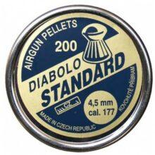 "Diabolky ""štandard"" 200 ks, cal. 4,5mm"
