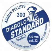 "Diabolky ""štandard"" 300 ks, cal 5,5mm"