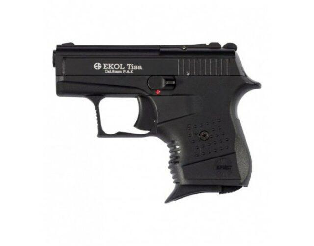 """Pištoľ plynová """"Ekol Tisa"""" 8mm PA – čierna"""