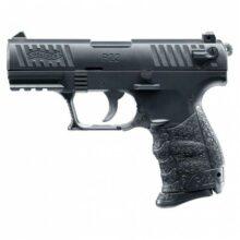 """Airsoftová manuálna pištoľ """"Walther P22Q"""" – kovový záver BB 6mm"""