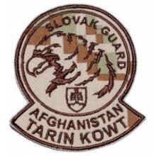 """Nášivka """"Slovak Guard Tarin"""" 9,5×8,5cm – digital púšť"""