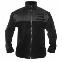 Mikina fleece OS SR vz.2007 so zipsom – čierna