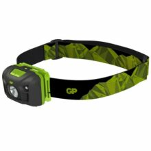 Svietidlo čelové GP Discovery CH34 LED LR03, P8554 – sivo/zelené
