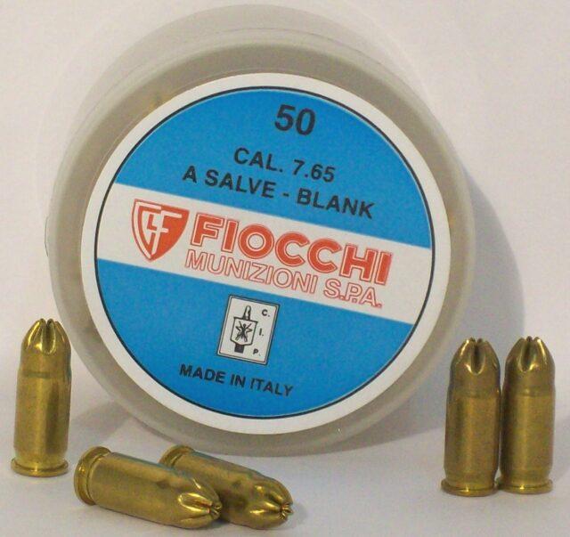Expanzné strelivo Fiocchi 7.65 brow. Blank (50 ks)