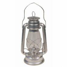 Lampa petrolejová – strieborná