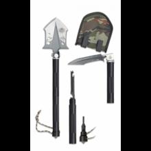 Lopatka skladacia ALBAINOX 33100 Survival Shovel – čierna