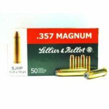 Sellier & Bellot 357 Mag. SJHP 10,25g./158grs (50ks)