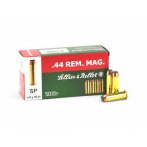 Sellier & Bellot 44 Rem. Mag. SP 15,55g./240gr. (50 ks)