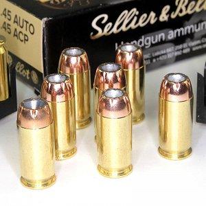 Sellier & Bellot 45 AUTO/45 ACP JHP14,9g./230grs (50ks)