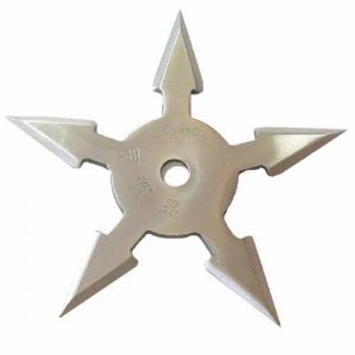 """Hviezdica """"5-cípa"""" – strieborná"""