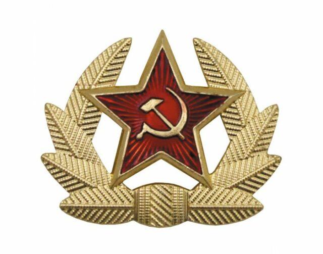 Odznak originálny armádny ruský MFH 636041 – hviezda s vencom