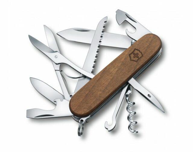 Nôž VICTORINOX Huntsman Wood – orech